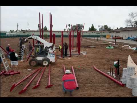 Playground Installation At Rescue The Children
