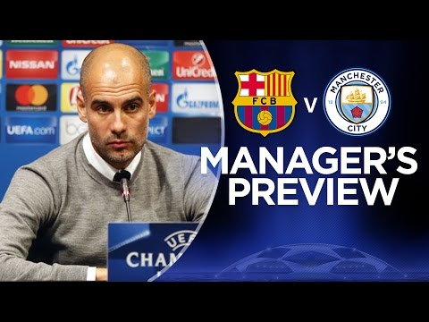 PEP ON MESSI & BARCA | Barcelona v Man City | Guardiola Press Conference