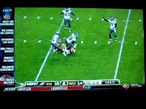 Eagles vs. Redskins highlights - Nov. 15, 2010