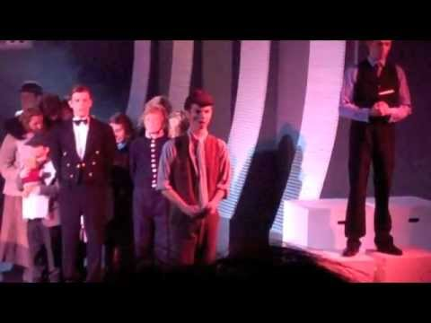 Titanic the musical Bristol UWE 2012