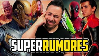 ¡Increíble Hype! NOVA vs THANOS, SPIDER-MAN & DEADPOOL ¿HOUSE OF M? ¡Rumores a Cascoporro!