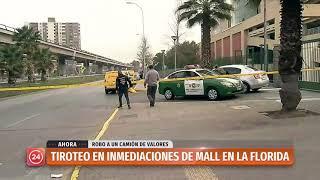 Registran tiroteo en mall Florida Center tras robo a camión de valores