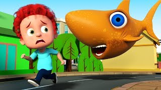 Schoolies | Flying Shark 3D Video Song For Children | Nursery Rhymes For Toddlers By Kids