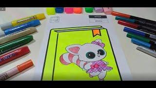 영어 교육으로 고양이 색칠 교육 어린이 색칠 교육 Co…