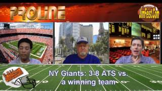 Panthers/NY Giants NFL Week 15 Betting Preview + Free Pick, Dec. 20, 2015