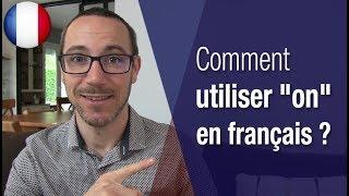 "Gambar cover Comment utiliser ""on"" en francais ?"