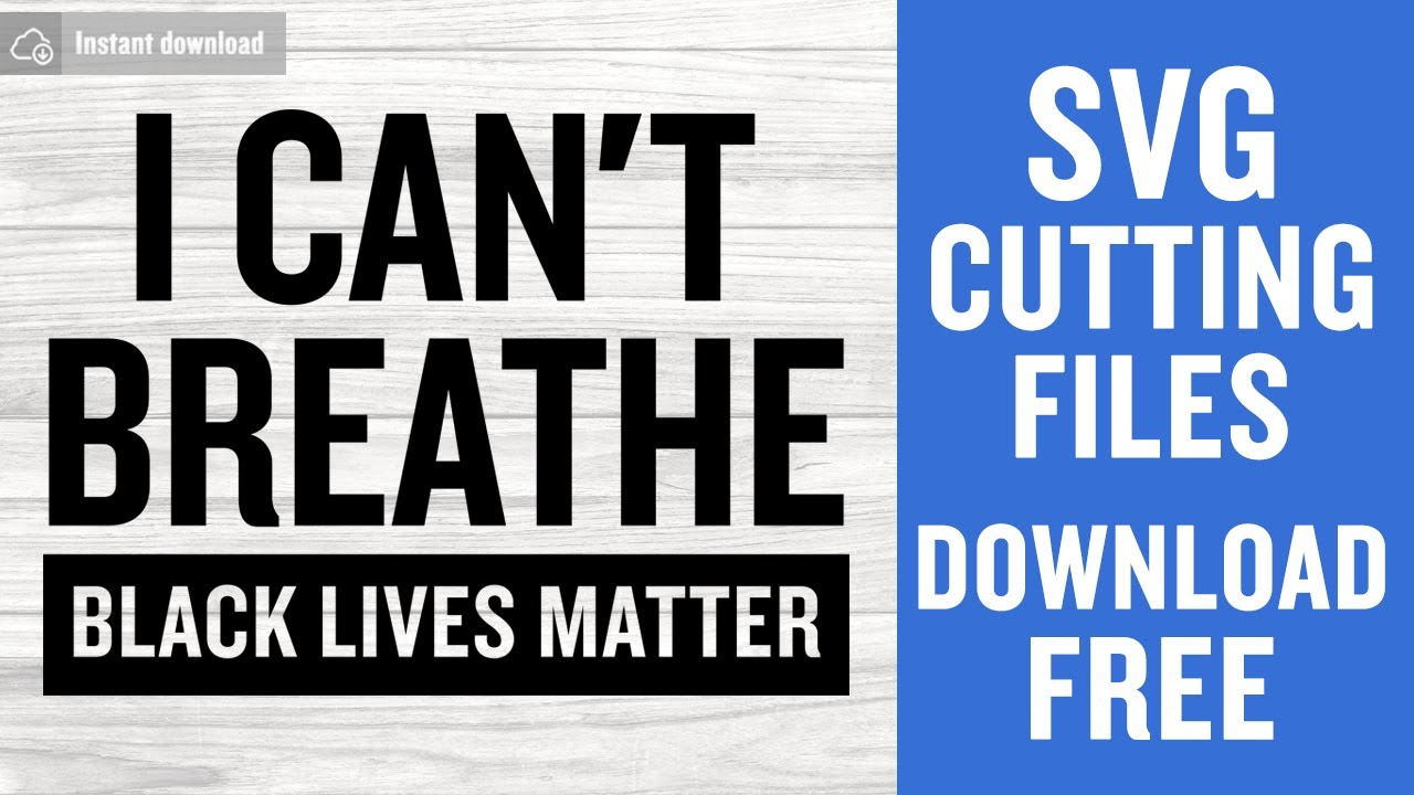 Black Lives Matter Svg Free Cut Files For Cricut Silhouette Free Download Youtube
