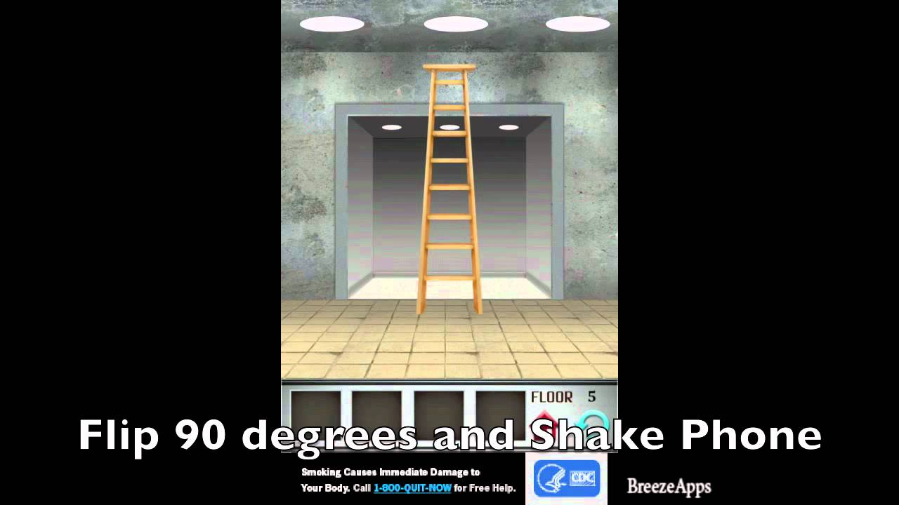 100 Floors Level 5 Youtube