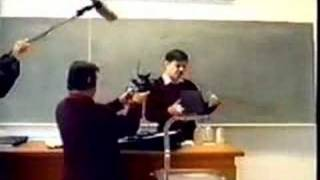 A video of a hydrocarbon refrigerant demonstration which wen
