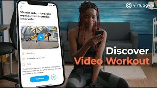 Build your own video workout library with Virtuagym's software screenshot 3