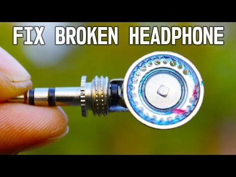 Two Awesome idea to fix Broken Head Phone Without Soldering
