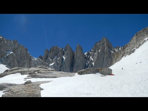 Climbing Mt Whitney 2017