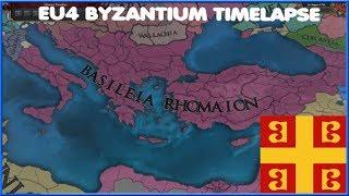 The Byzantine Crusade- Eu4 timelapse w/tnt