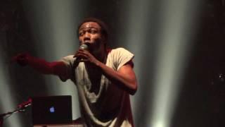 "Childish Gambino - ""Bonfire"" (Live in Los Angeles 11-12-11)"