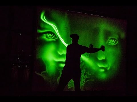 Book Light Art Show - Corporate event performance