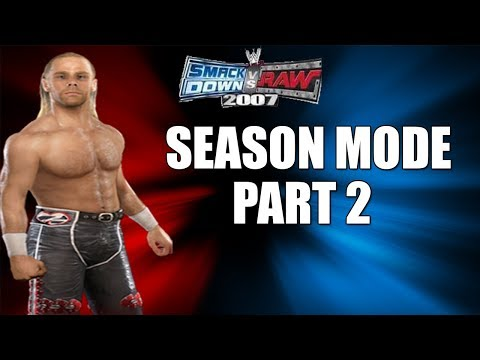 Smackdown Vs Raw 2007 | Season Mode | #2 | Re-volution