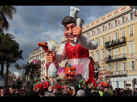The Best of  Carnaval de Nice (France) 2014 Part 1 of 2