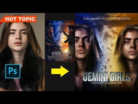 Photoshop Challenge #5 - #Gemini Man Poster Theme