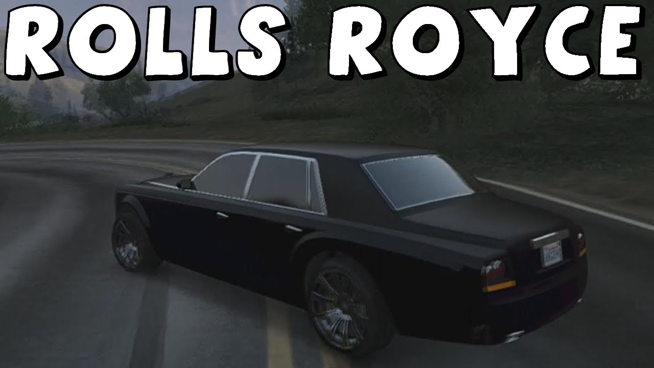 Rolls Royce Build >> Grand Theft Auto 5 | Rolls Royce Phantom (Super Diamond ...