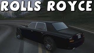 Grand Theft Auto 5 | Rolls Royce Phantom (Super Diamond) | Build, Test Drive And Drift