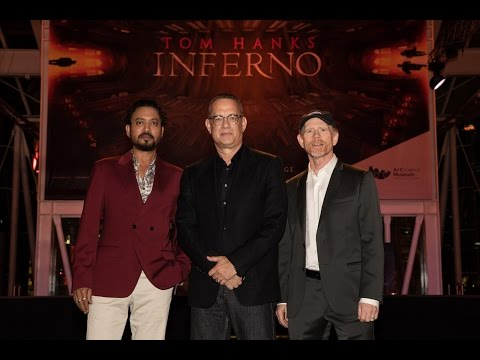 "Tom Hanks, Irrfan Kahn, Ron Howard At ""Inferno"" Photo Call & Red Carpet"