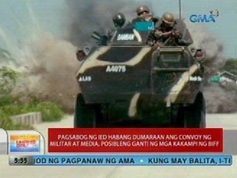 UB: IED blast sa Maguindanao, posibleng ganti ng mga kakampi ng BIFF