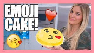 How to make a Valentine's Emoji Kiss Cake! | iJustine