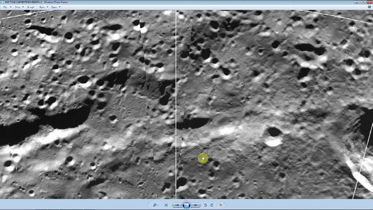 ancient spacecraft on moon clementine satellite - photo #12