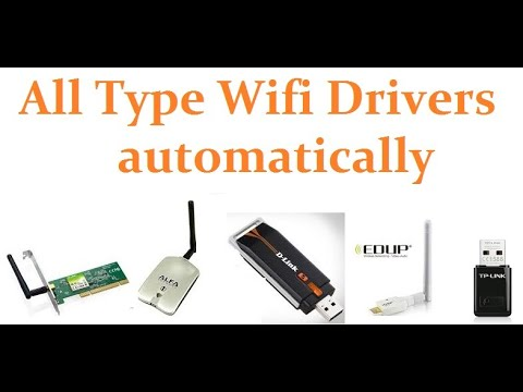 How To Install Tp Link,Dlink,alfa, Usb Wireless Driver Automatically Installer