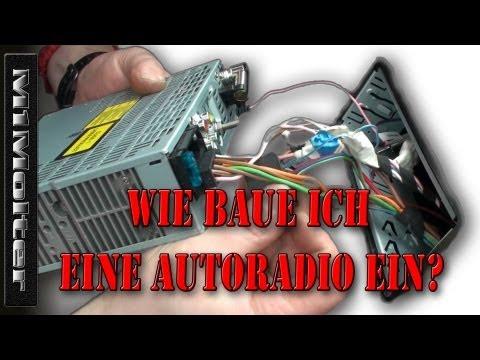 Autoradio Einbauen wie? Anschluss ISO Norm von M1Molter
