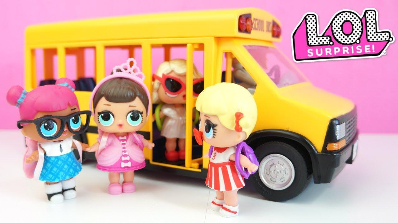 Bonecas lol surpresa v o para escola no nibus escolar da for Playmobil jugendzimmer 6457