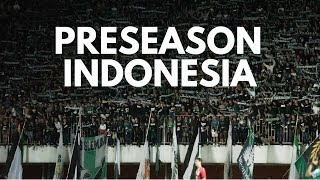 Pro Soccer Football Preseason in Indonesia (vs PSS Sleman)