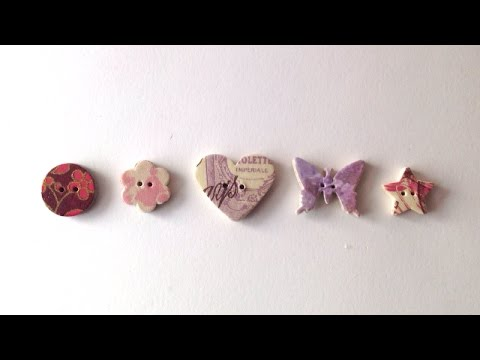 How To Make Beautiful Buttons From Junk - DIY Crafts Tutorial - Guidecentral