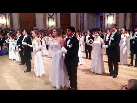 IAEA ball 2017, Hofburg, opening ceremony, debutants