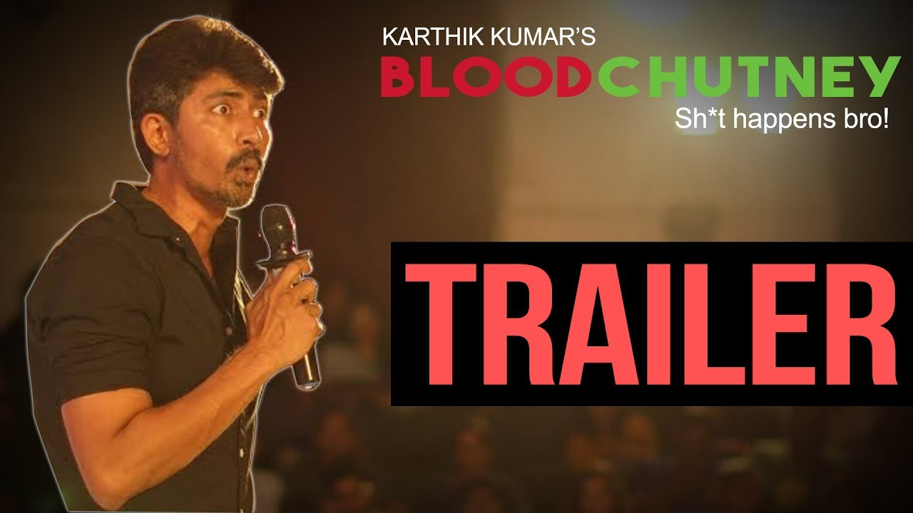 Now Streaming - Blood Chutney by Karthik Kumar on Amazon Prime