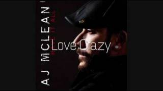 "AJ Mclean - Have It All Album ""Finalized"""