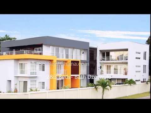 2&3 Bedroom Furnished Duplex Apartment In Dzorwulu-Ghana