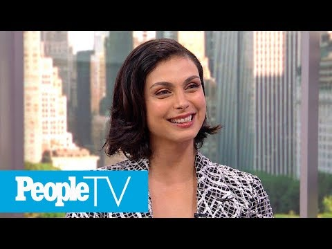 Morena Baccarin Says Husband And Costar Ben Mckenzie 'Knows Who's Boss' On 'Gotham' Set | PeopleTV
