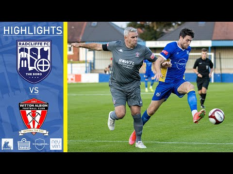 Radcliffe Witton Goals And Highlights