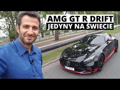 Mercedes AMG-GT R Drift 765 KM - szybszy od Veyrona!