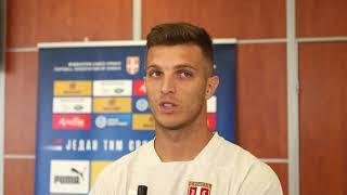Darko Lazović Pred Meč Srbija - Portugal u Kvalifikacijama za Euro 2020   SPORT KLUB Fudbal