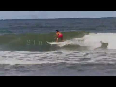 Surf Treino - Vivian Messina _ Praia De Taguaiba/SP