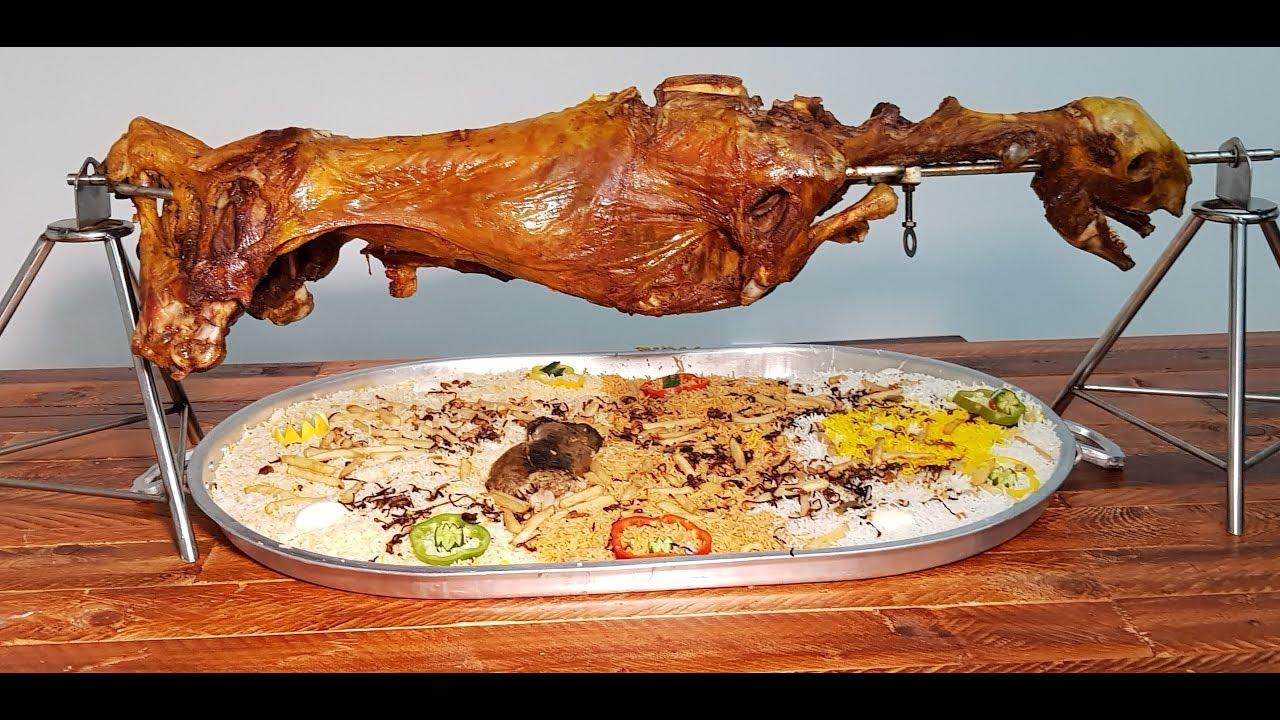 الخروف البوسني في مطعم بيت البخاري في أبوظبي تغطية شادي شوقي Bosnian Lamb By The Ss Youtube