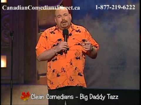Big Daddy Tazz - Clean Comedian