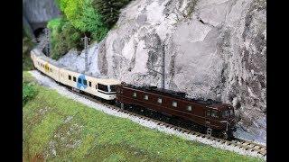 【第7回鉄道模型運転会】「あすか」試運転、SL北びわこ号(音声付きテスト)など