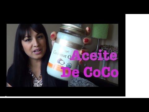 MI MEJOR REMEDIO PARA CABELLO&ROSTRO COCONUT OIL-ACEITE DE COCO