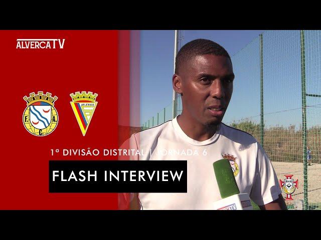 FC Alverca B 0 - 2 Atlético CP   Flash Interview