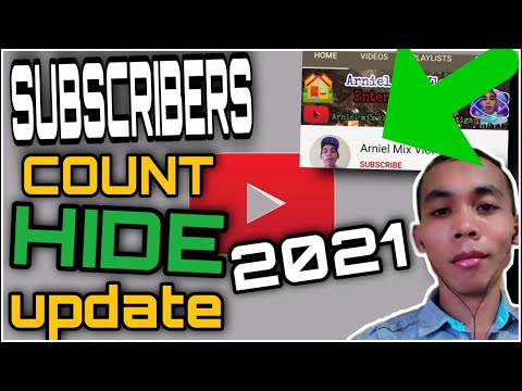 Subscribers count private on YouTube new update 2021