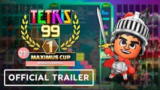 Tetris 99 - Official 21st Maximus Cup Trailer