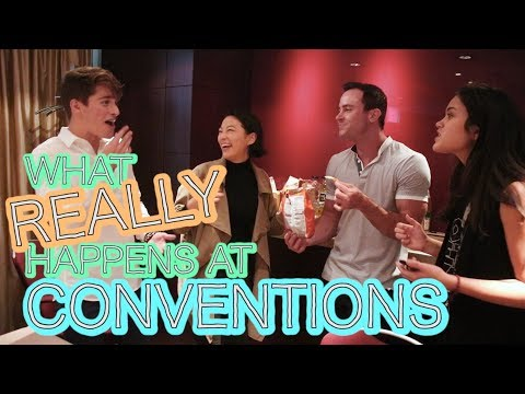 What REALLY Happens at Conventions (Wolfies in Paris Day 2)